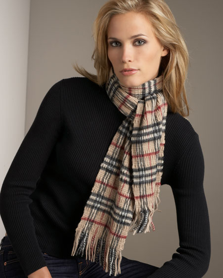 burberry scarf outlet